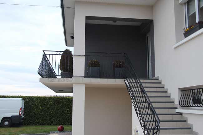 barri res inox balcon sfj jacolin. Black Bedroom Furniture Sets. Home Design Ideas