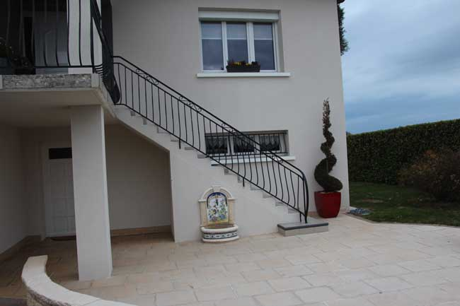 Barriére balcon inox beaurepaire