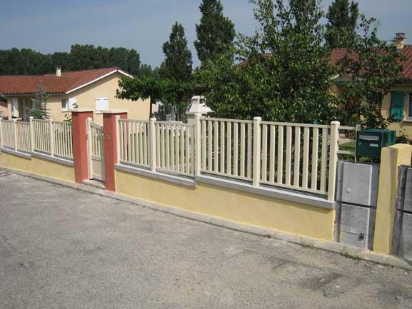barrière aluminium moras en valloire