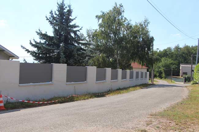 Barrière aluminium pajay extérieur