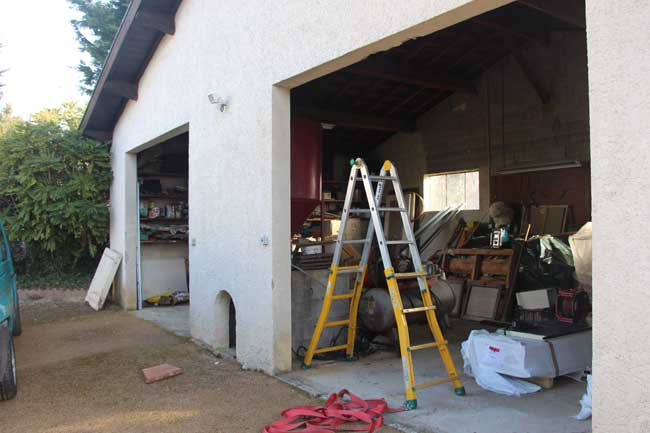 Porte de garage pajay