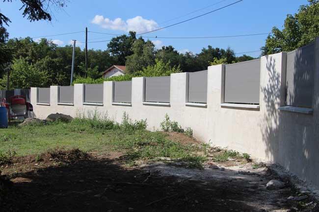 Barrière aluminium pajay extérieur 2