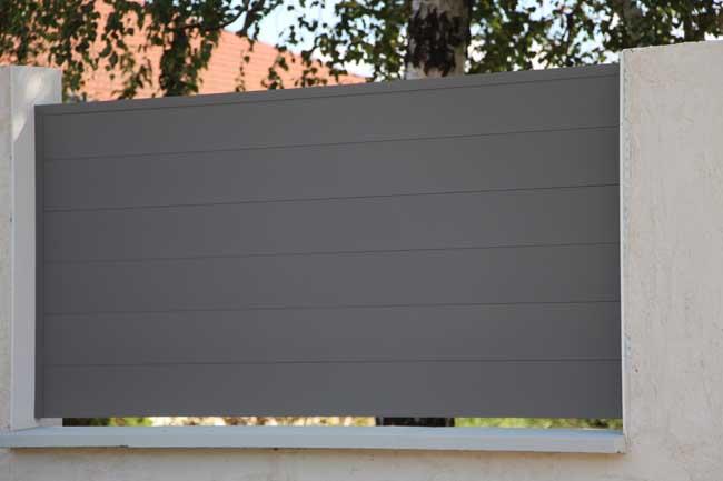 Panneau de Barrière aluminium pajay