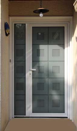 porte aluminium Vif