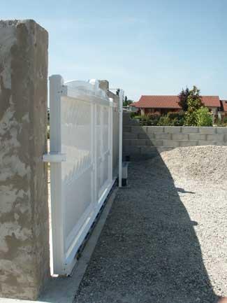 Portail aluminium st-sorlin-en-valloire