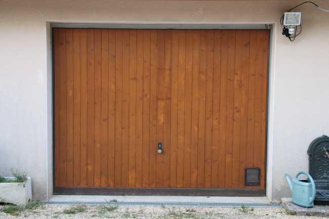 Porte sectionnelle Bossieu