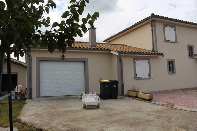 Porte sectionnelle Roussillon