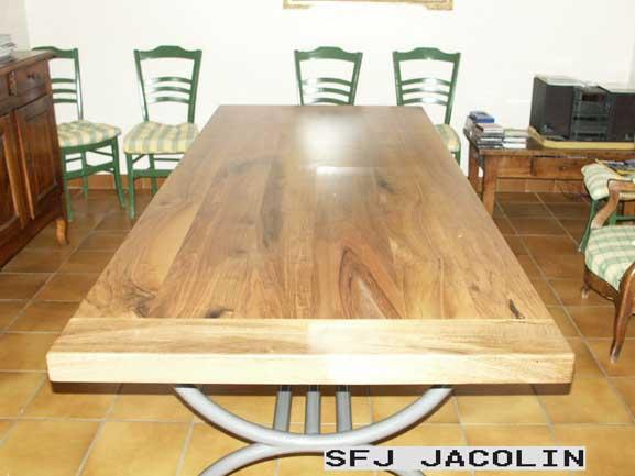 Tables acier